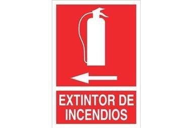 Comprar SEÑAL LUMINISCENTE 148X105MM. Extintor de incendios COF-SO02LU148105 en Ferretería el Clavo.