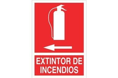 Comprar SEÑAL LUMINISCENTE 210X148MM. Extintor de incendios COF-SO02LU210148 en Ferretería el Clavo.