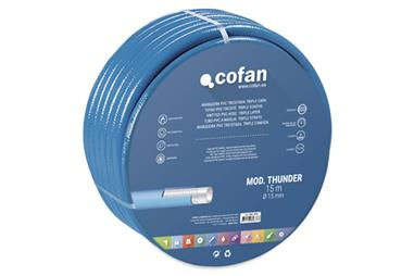 Comprar MANGUERA PVC MOD. THUNDER 3C TRICOTADA Ø15X15 m COF-90014320 en Ferretería el Clavo.
