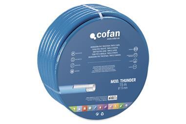 Comprar MANGUERA PVC MOD. THUNDER 3C TRICOTADA Ø19X25 m COF-90014323 en Ferretería el Clavo.