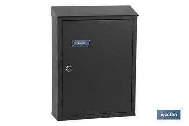 Comprar BUZÓN CORREO EXTERIOR VERDE MOD.POST 385x290x100mm COF-41007103V en Ferretería el Clavo.